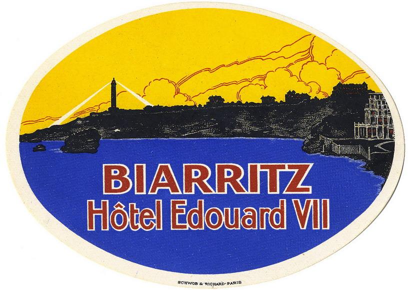 Hotel Edouard VII,Biarritz
