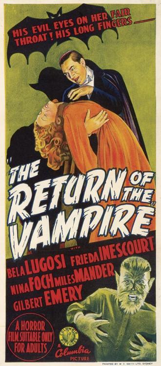 "Lugosi as ""Dracula"""