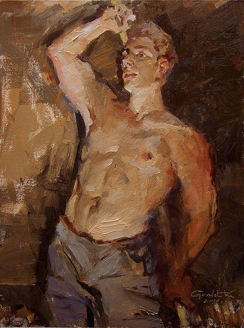 Painting by contemporary Armenian painter GamletKhoudaverdian