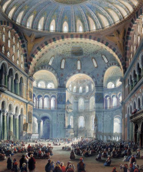 Hagia Sophia Mosque, Constantinople/Istanbul