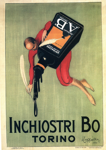 Inchiostri Bo, Torino,1921