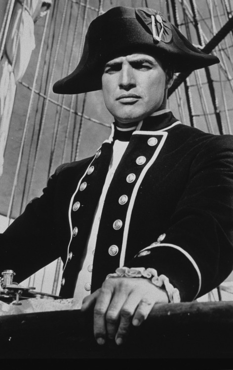 "Marlon Brando in ""Mutiny on the Bounty"""