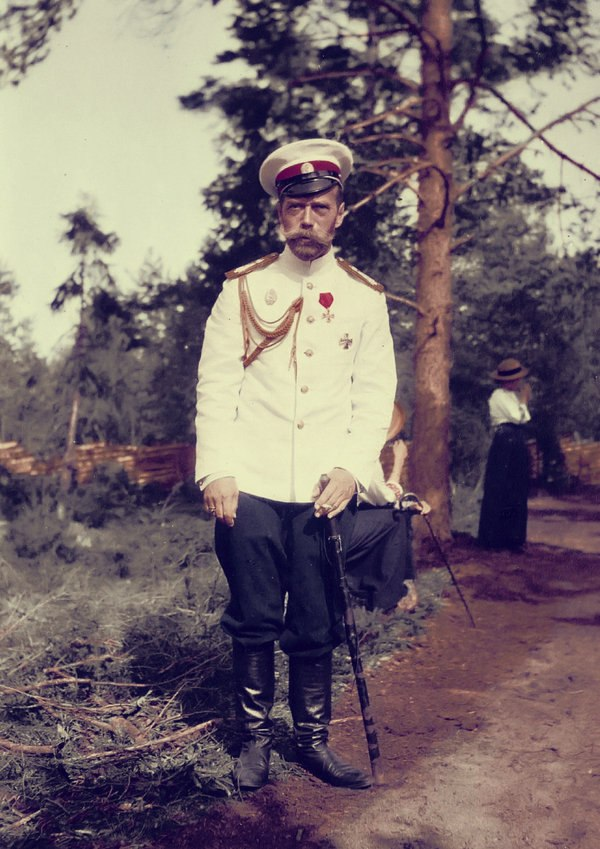 Tsar Nicholas II in living colour