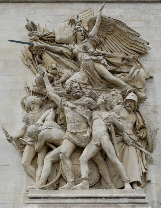 paris arc de triomphe 503