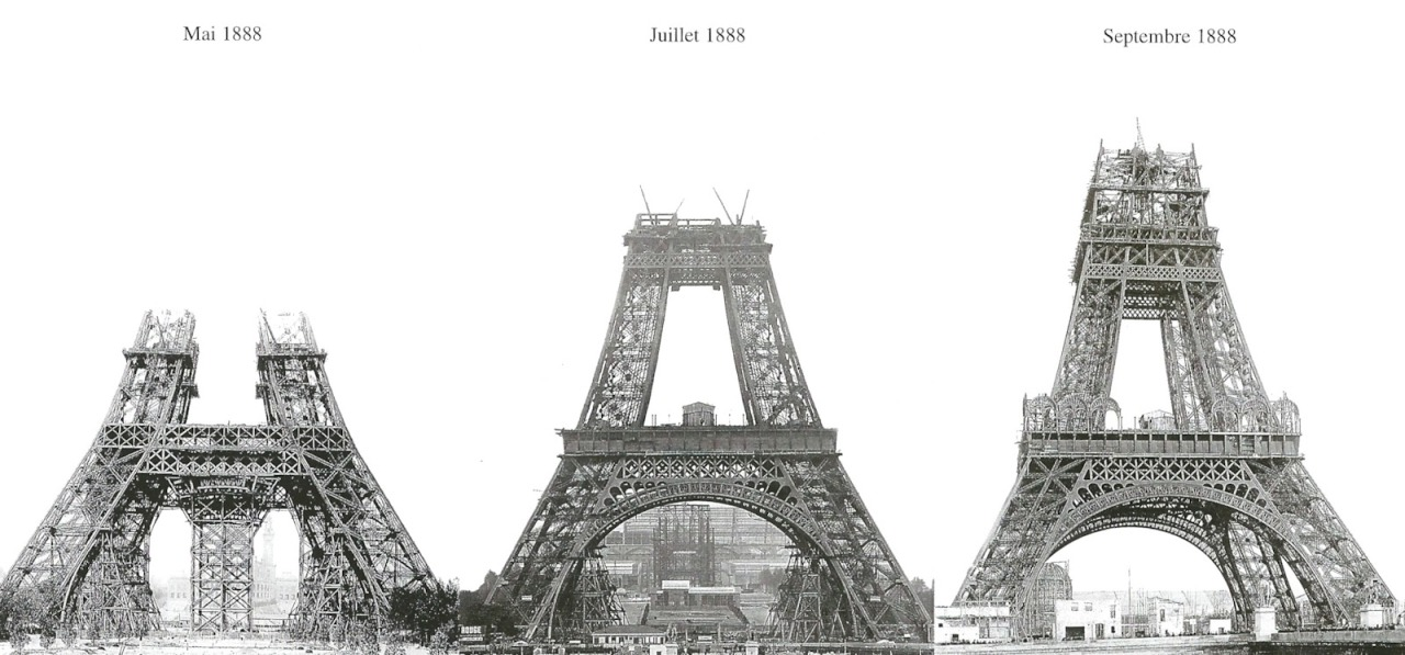 Building the Eiffel Tower, Paris | Matthew's Island of ...