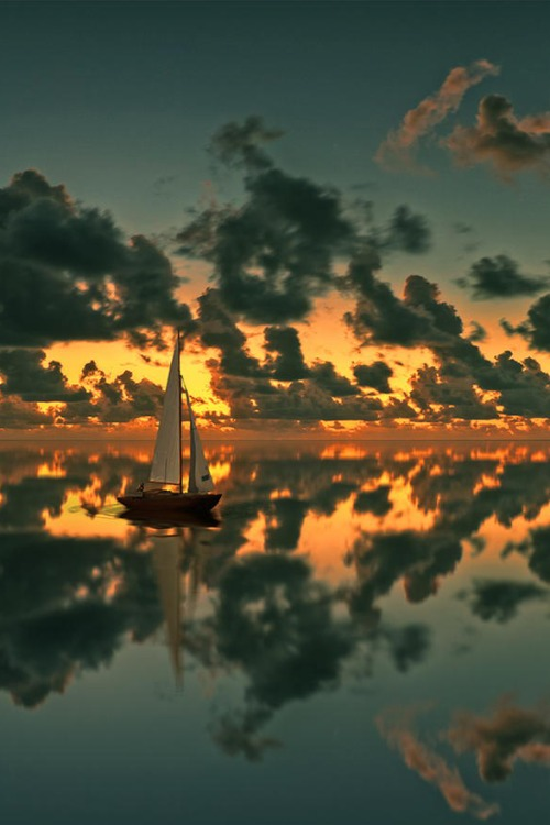 Sailboat, photo by Peter From