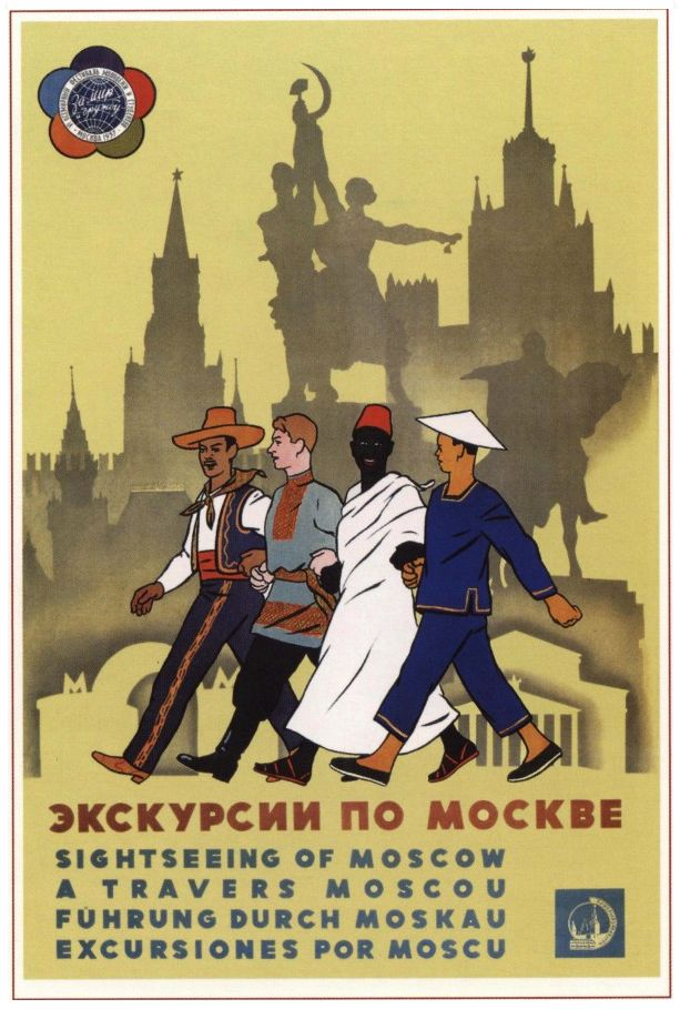 Moscow sightseeing guide, Soviet era