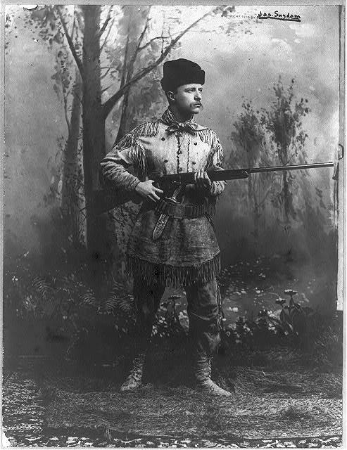 Teddy Roosevelt, 1885