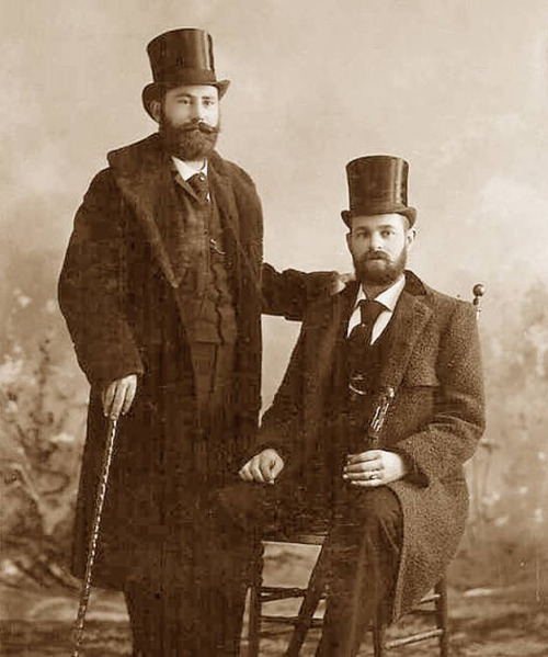 Top hats and beards