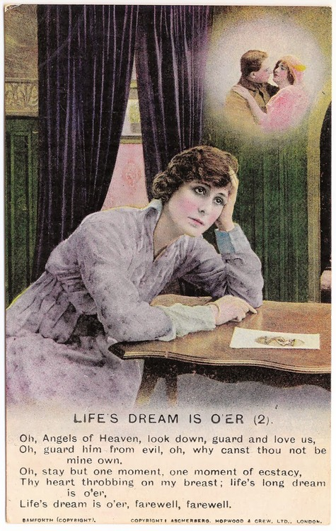 Life's Dream is O'er (WWI soldier's wife lament)
