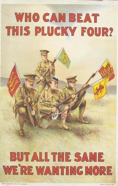 WWI UK Poster