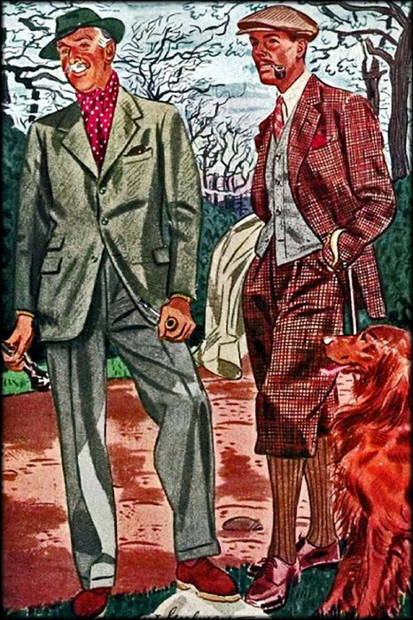 Country classic clothing,1930s
