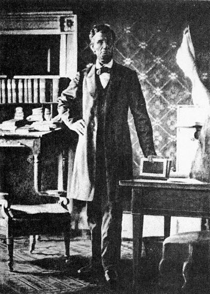 Abraham Lincoln, photo by MatthewBrady