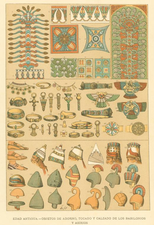 Miscellaneous objects fromBabylon/Assyria