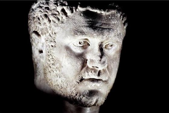 l'empereur Caracalla empereur de 212 à 217ap jc marbre