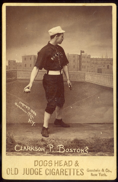 Boston baseball player,1888
