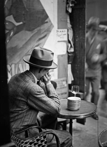 cafe man