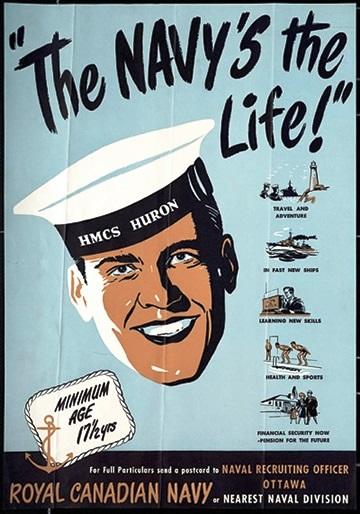 CANADIAN NAVY POSTERS 252
