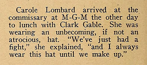 Carole Lombard's revenge(1938)