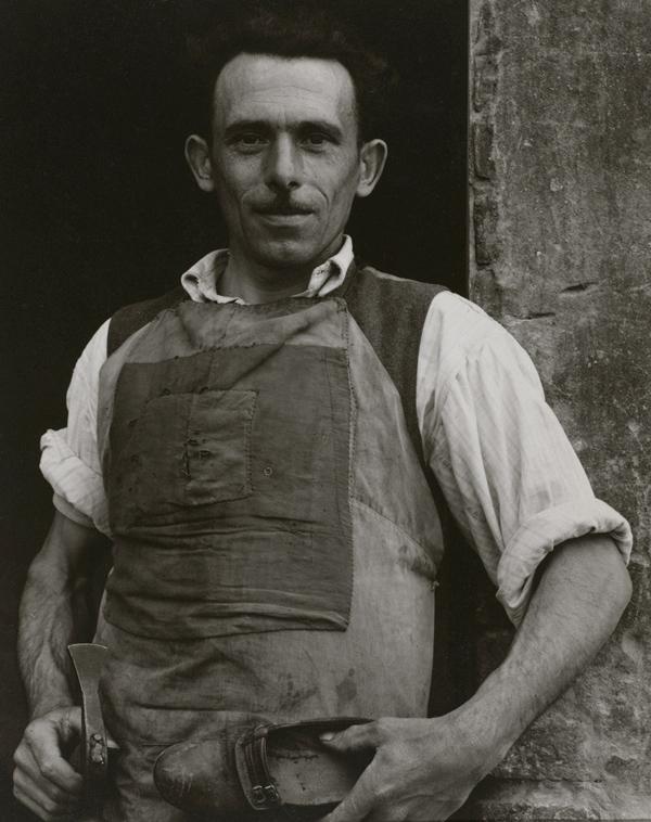 Cobbler, 1953, by PaulStrand