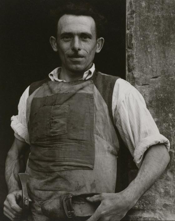 Cobbler, Luzzara, 1953 by Paul Strand