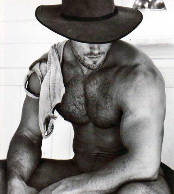 cowboy shirtless 861