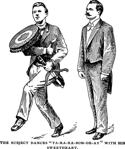 When men danced withfurniture