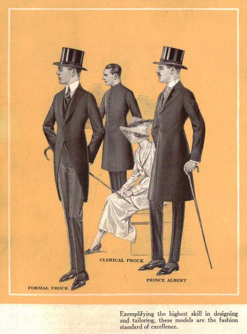 Formal wear, late1800s