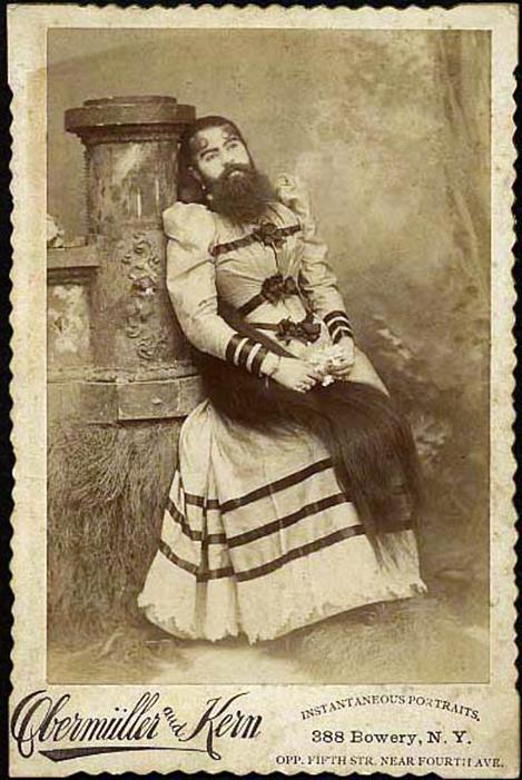 freak bearded lady 1232