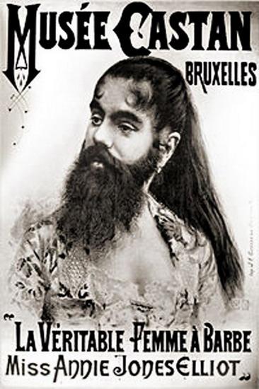 freaks bearded woman 3223