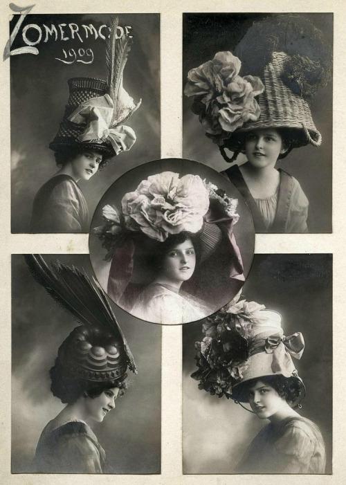 hats 1909