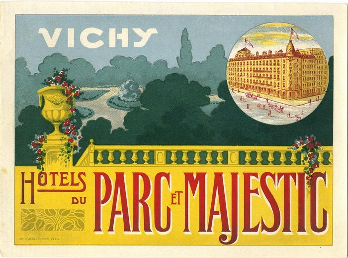Hotels du Parc et Majestic, Vichy,France