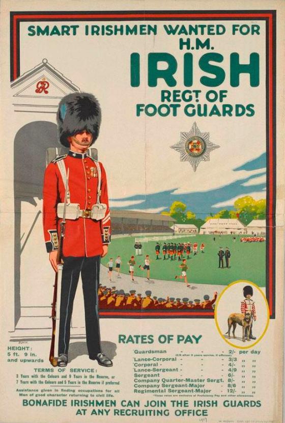 irish foot guard