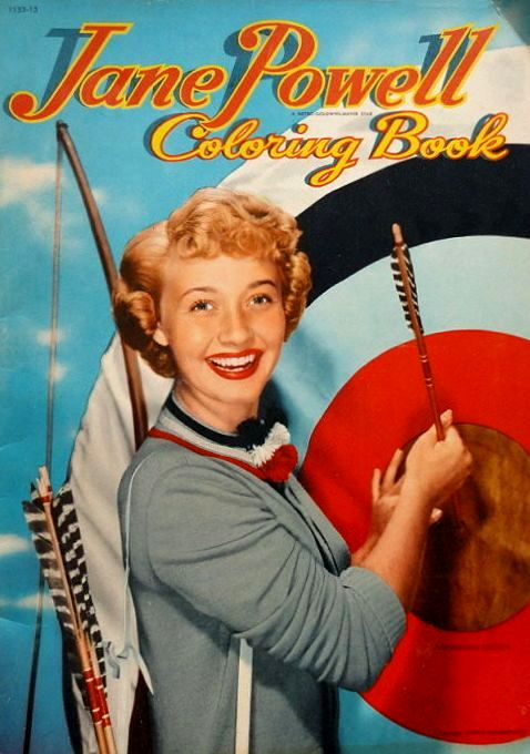 Jane Powell Coloring Book