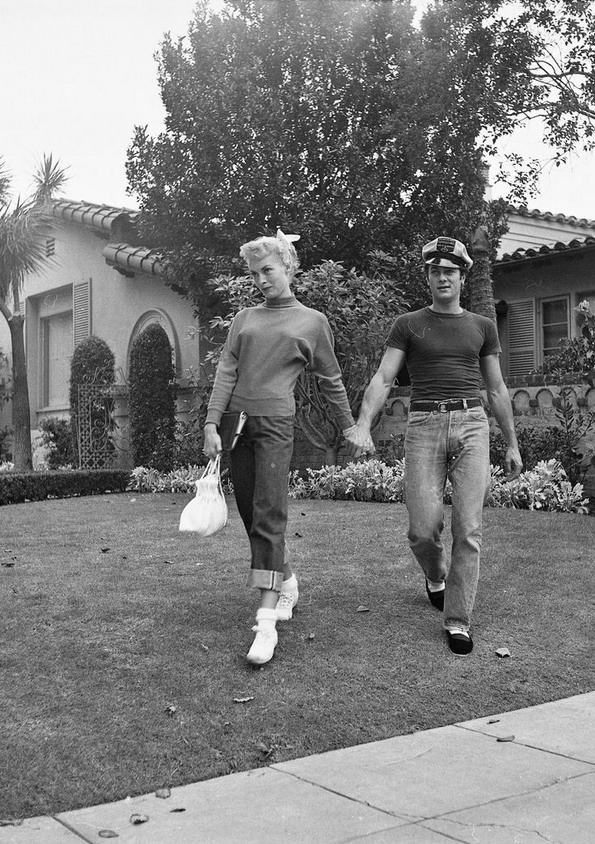 Janet Leigh and TonyCurtis