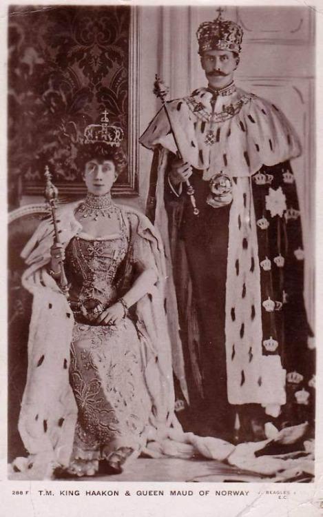 King Haakon & Queen Maud ofNorway