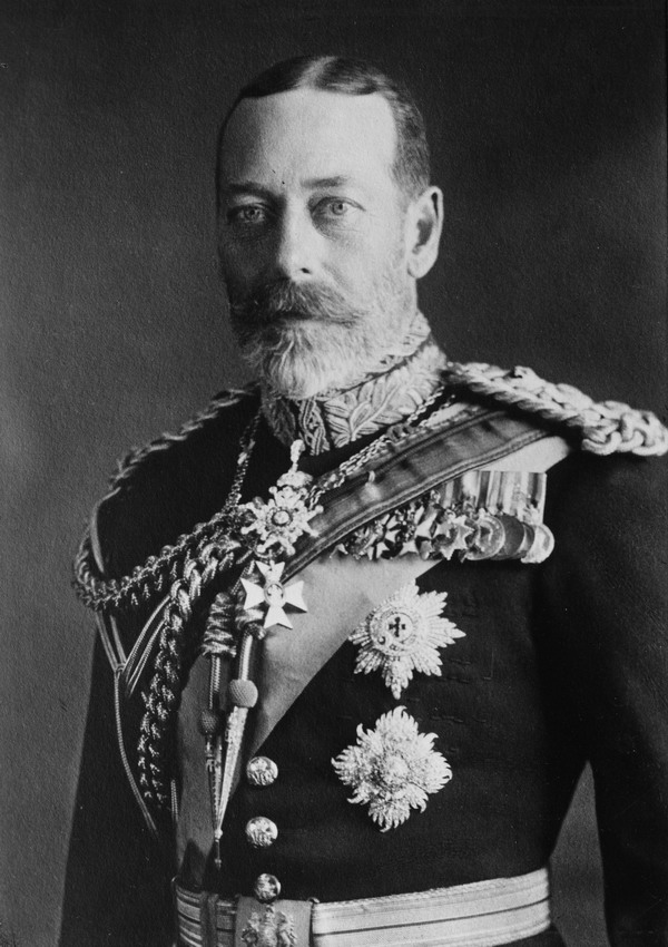 King George V as an older man, 1923