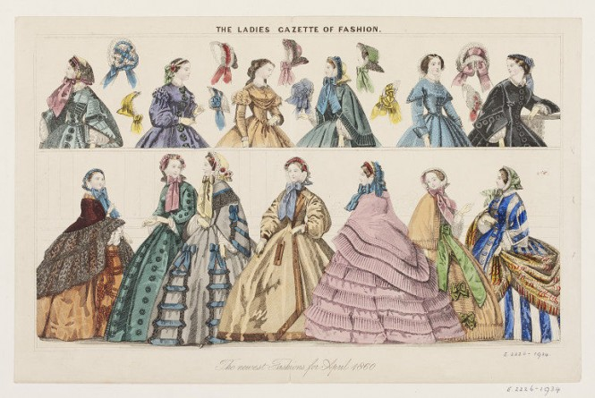 The Ladies Gazette of Fashion