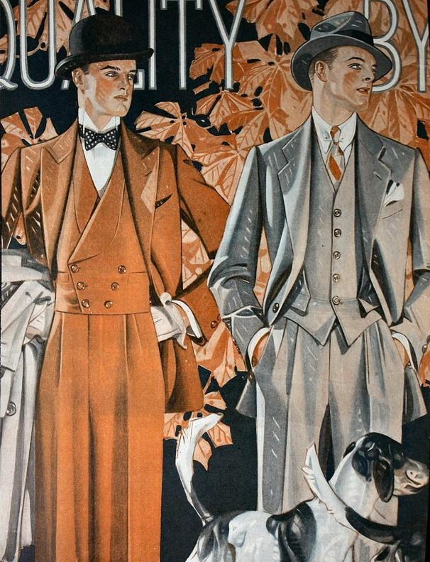 Leyendecker, Fall Fashions,1910s