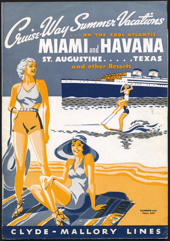 Miami and Havana Cruises,1937