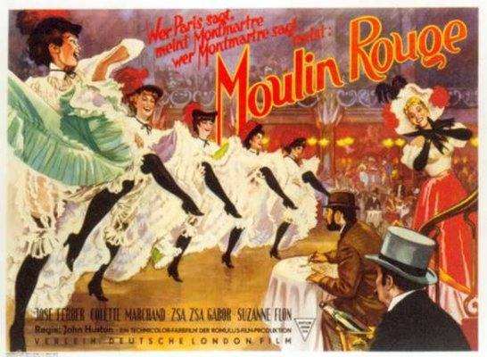 Moulin Rouge (1952 version starring ZsaZsa)