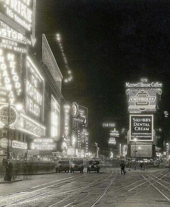 NYC TIMES SQUARE 1930s 501