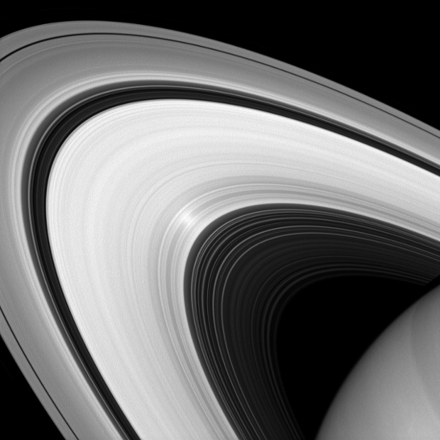 Rings of Saturn by the CassiniOrbiter