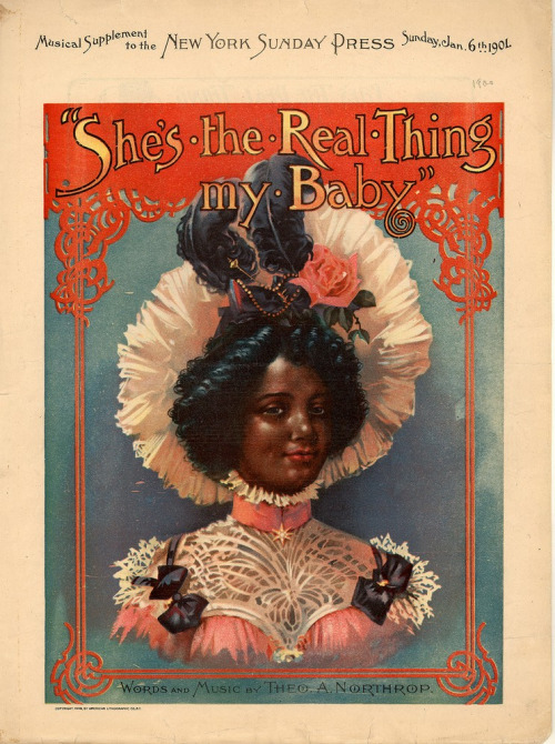 She's the Real Thing My Baby,1901