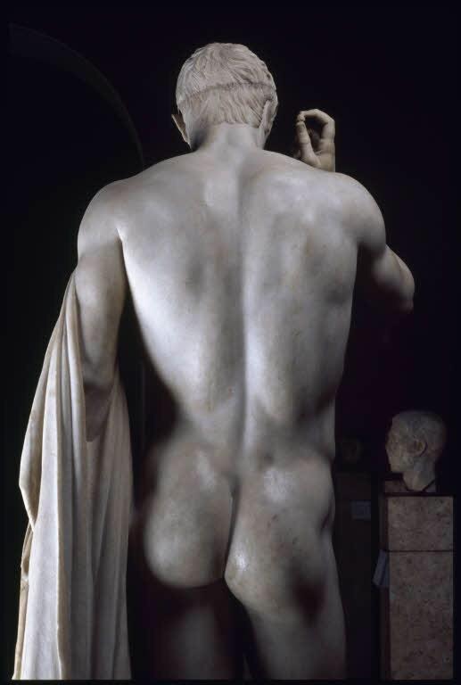 statue butt 411
