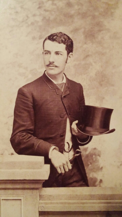 Stache and tophat