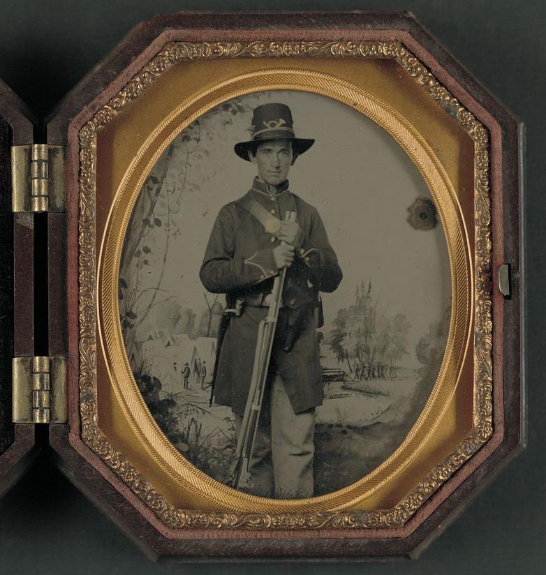 US Civil War erasoldier