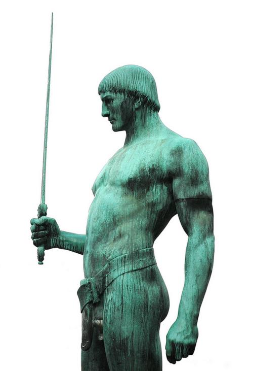 warrior statue 13
