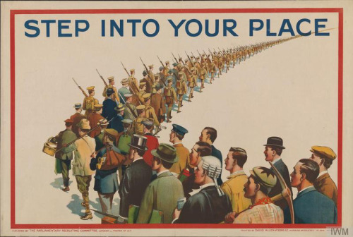 WWI – British Recruitment Poster