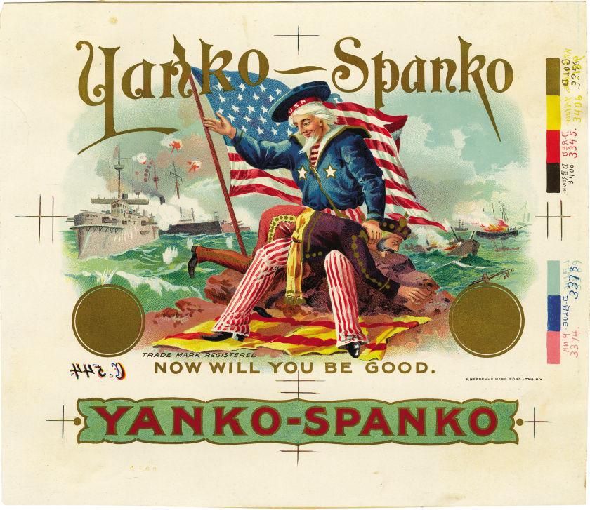 Yanko Spanko: The US giving Cuba a spank (US-Spain War of1898)